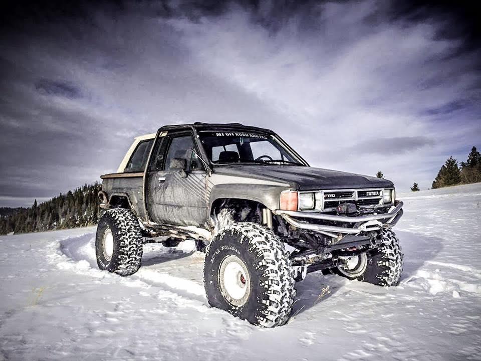 Custom built vehicle